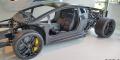 Essai Lamborghini Aventador SV châssis carbone