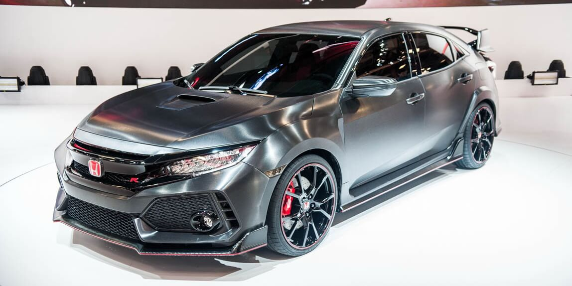 Paris 2016: Honda Civic Type R Concept