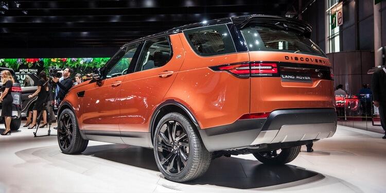 Paris 2016: Land Rover Discovery