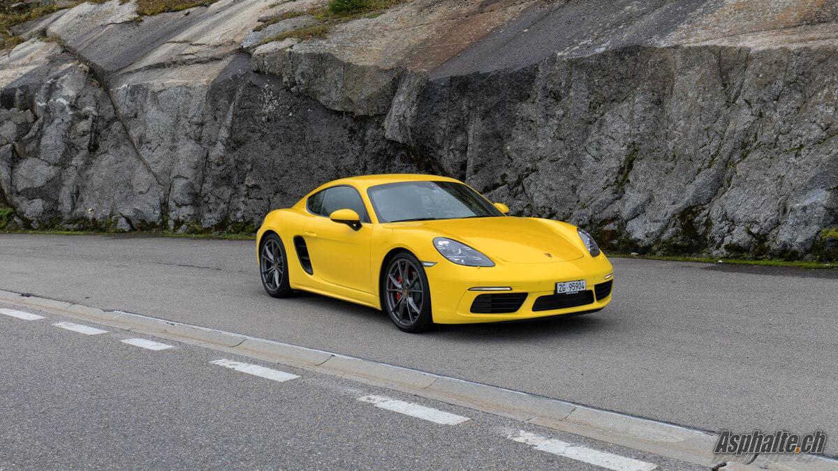 Essai Porsche 718 Cayman S