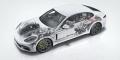 Porsche Panamera 4 e-hybrid écorché