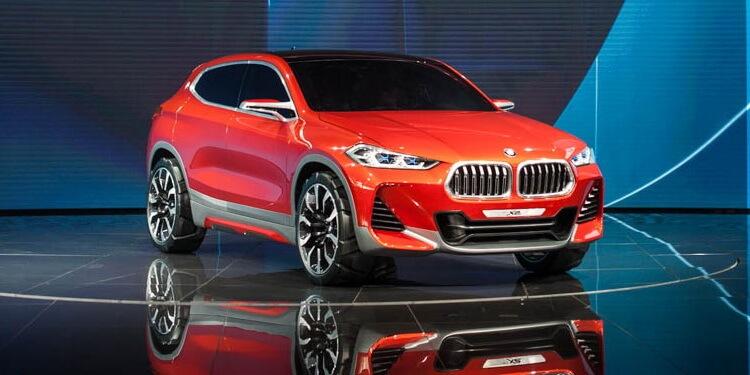 BMW X2 Concept Paris 2016