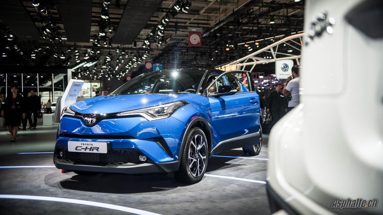 Toyota C-HR Paris 2016
