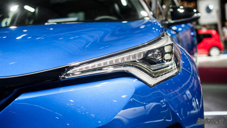 Toyota C-HR phare avant