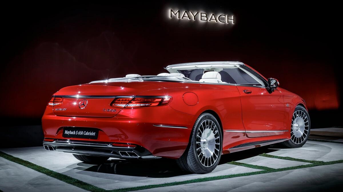 Mercedes Maybach S650 Cabriolet Asphalte Ch
