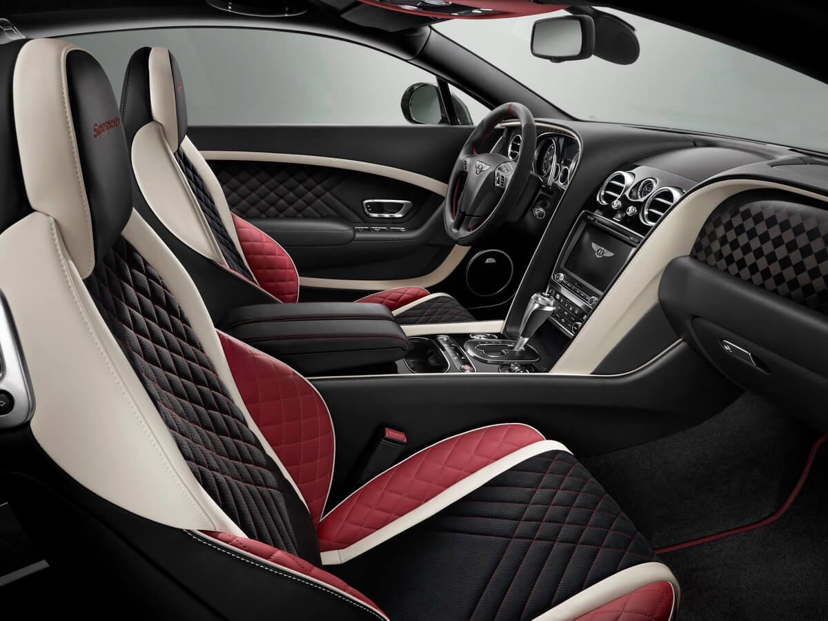 Bentley Continental Supersports intérieur