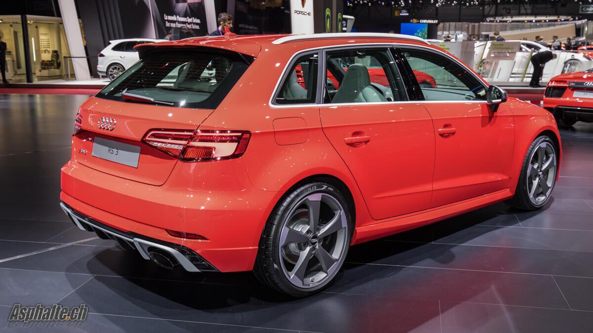 Genève 2017 Audi RS3 Sportback Facelift