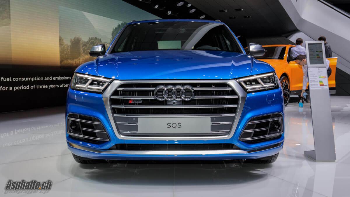 Audi SQ5 Genève 2017