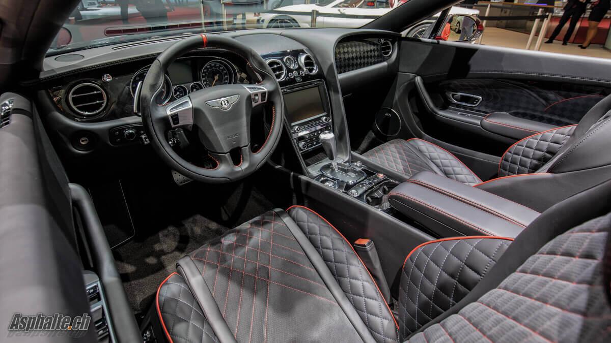 Bentley Continental Supersports Convertible intérieur