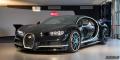 Bugatti Chiron Black Blue Genève