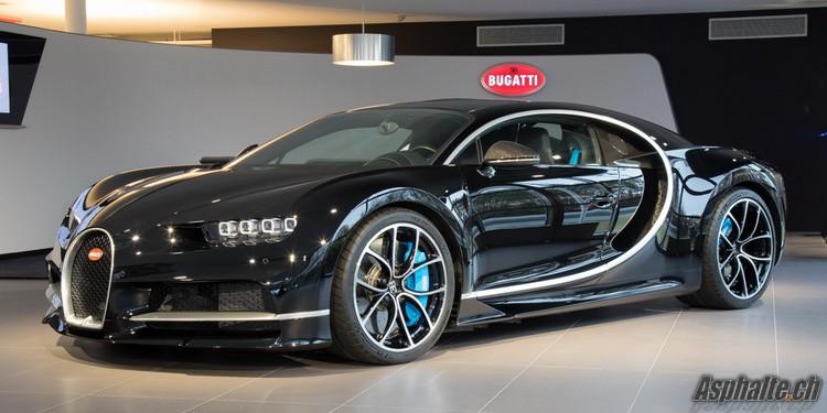 Genève 2017 Bugatti Chiron