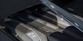 Bugatti Chiron Black Blue Genève moteur