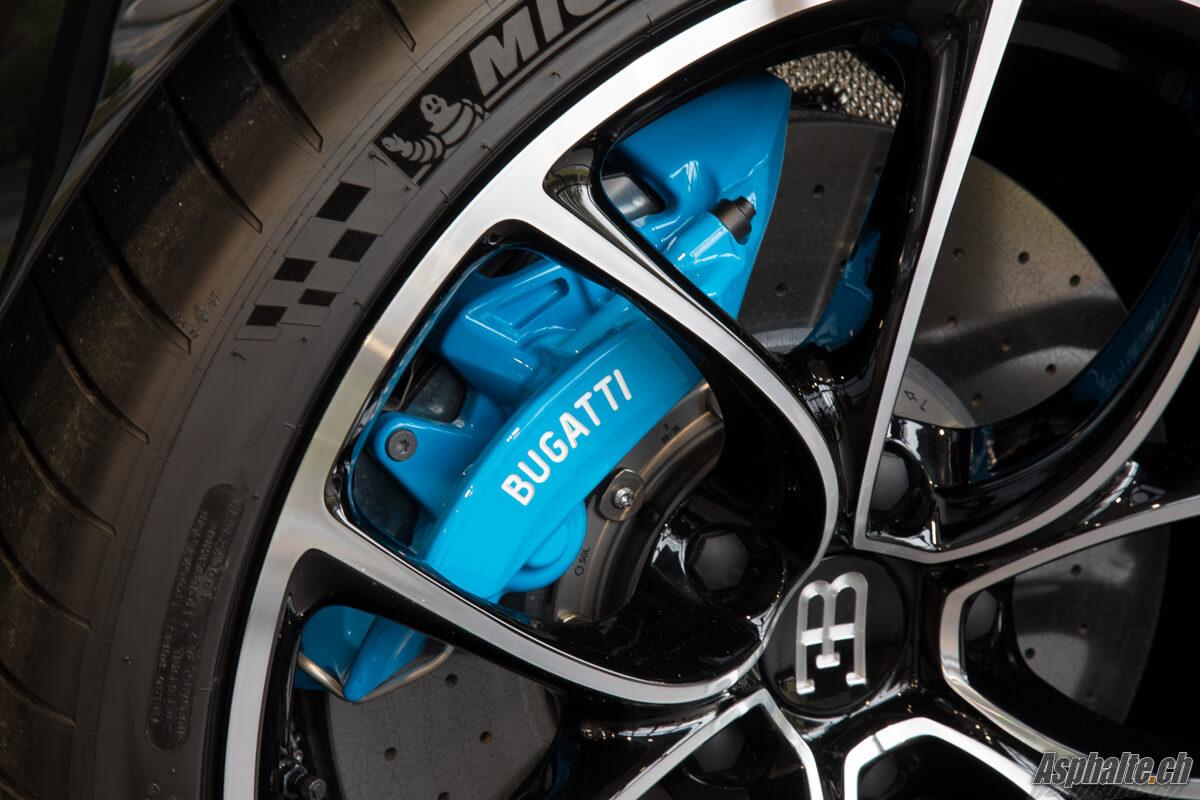 Bugatti Chiron étrier frein