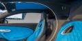 Bugatti Chiron Black Blue Genève intérieur