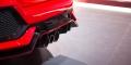 Honda Civic Type R 2017 échappement