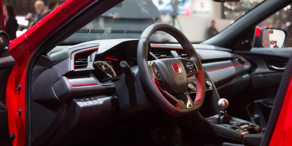 Honda Civic Type R intérieur