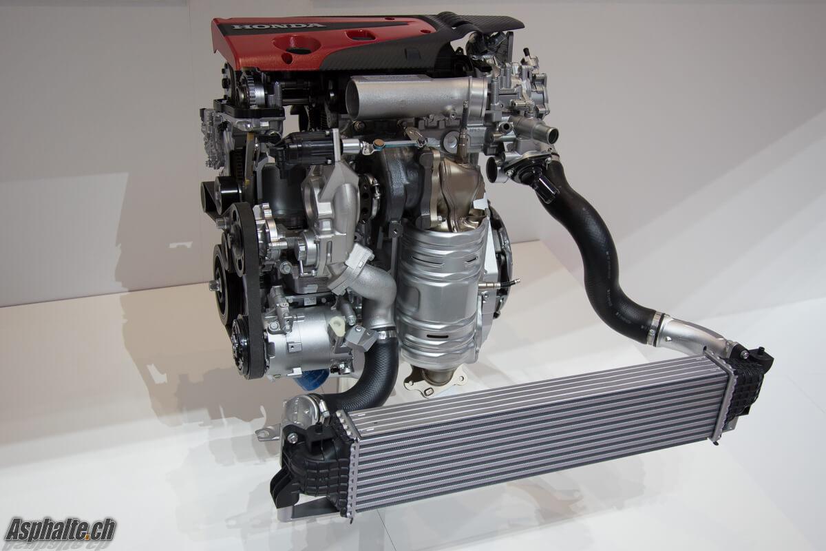 Honda Civic Type R 2017 moteur échangeur