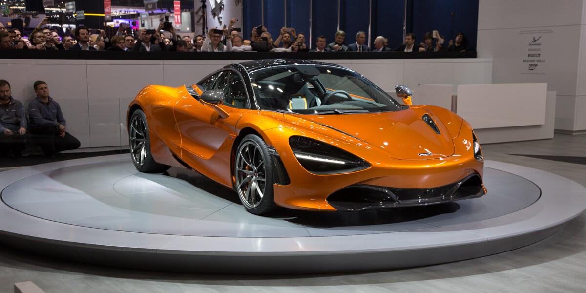 Genève 2017 McLaren 720S Super Series