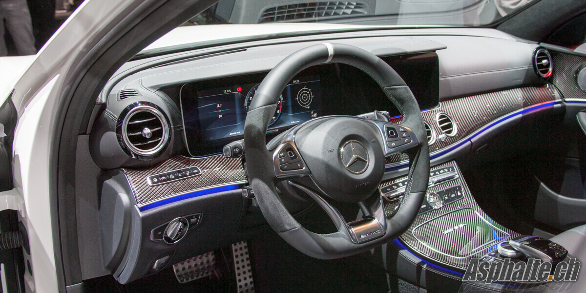 Mercedes-AMG E63 4Matic Wagon break T intérieur interior