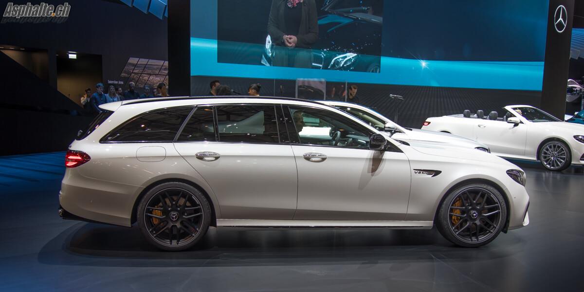 Mercedes-AMG E63 4Matic+ Break Wagon T-Modell Genève 2017
