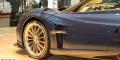 Pagani Huayra Roadster prise d'air avant