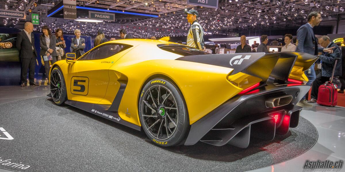 Fittipaldi EF7 par Pininfarina