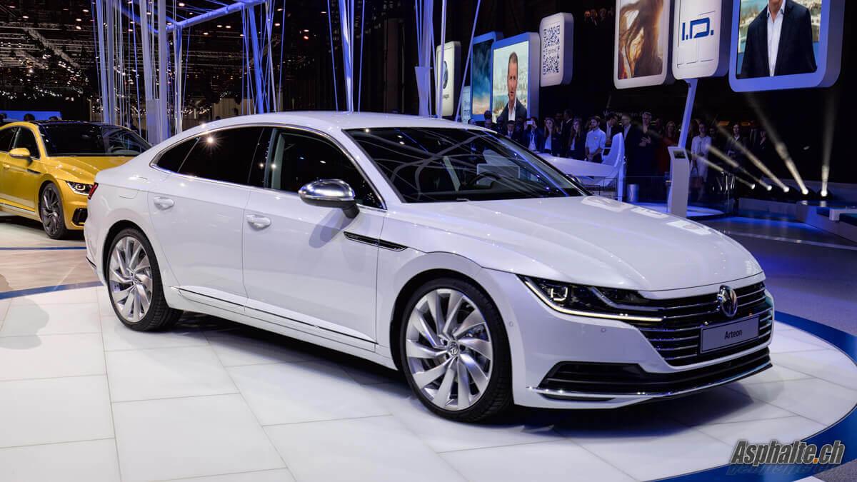 VW Arteon Genève 2017