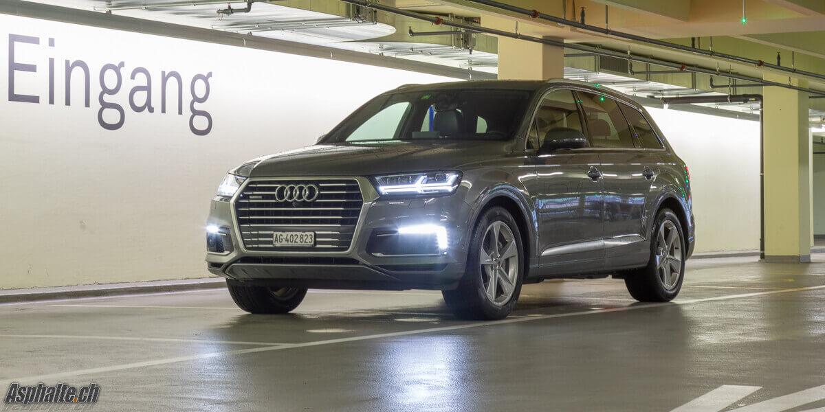 Essai Audi Q7 e-tron hybride