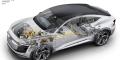 Audi e-tron Sportback concept écorché