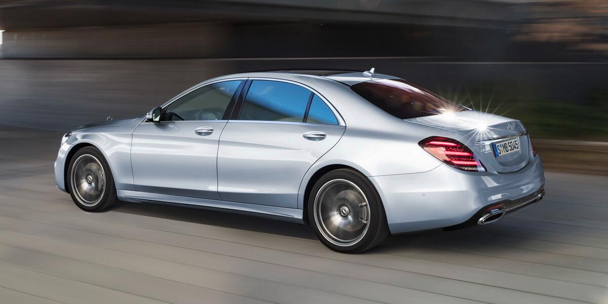 Mercedes-Benz Classe S 2017 diamantsilber AMG Line
