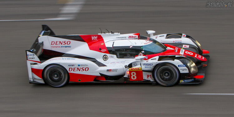 WEC 6h de Spa: Toyota victorieux