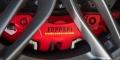 Essai Ferrari 488 GTB Rosso Corsa étrier frein Brembo