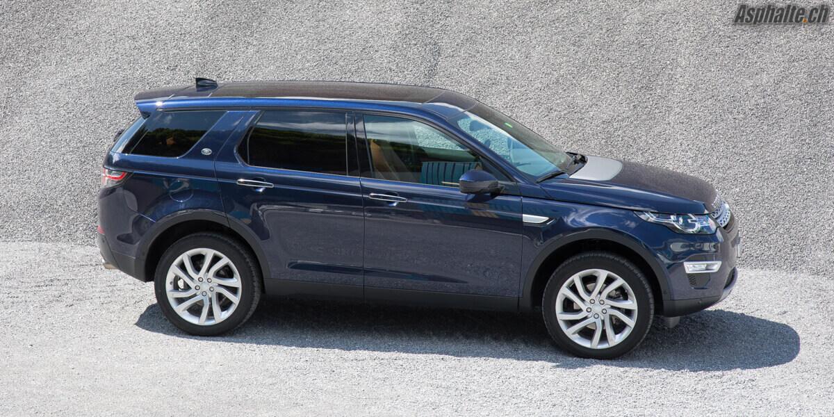 Essai Land Rover Discovery Sport Bleu Loire