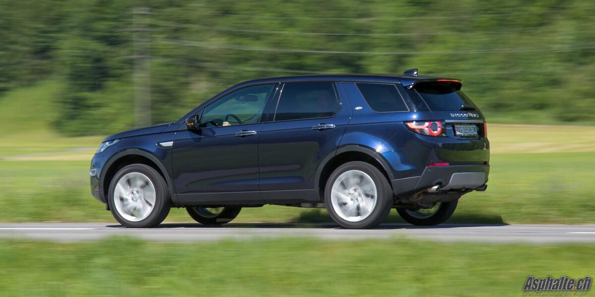 Essai Land Rover Discovery Sport TD4 180