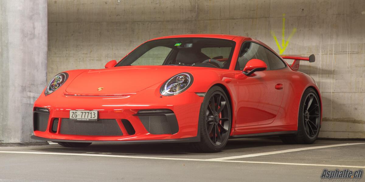 Essai Porsche 991.2 GT3 Lava Orange