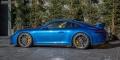 Essai Porsche 991.2 GT3 bleu saphir