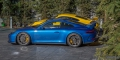 Essai Porsche 991.2 GT3 Bleu Saphir Jaune Racing