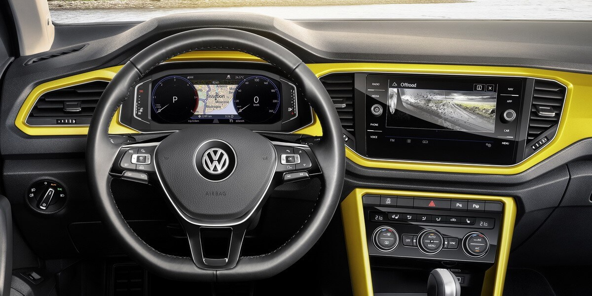 VW T-Roc Multimedia Active Info Display