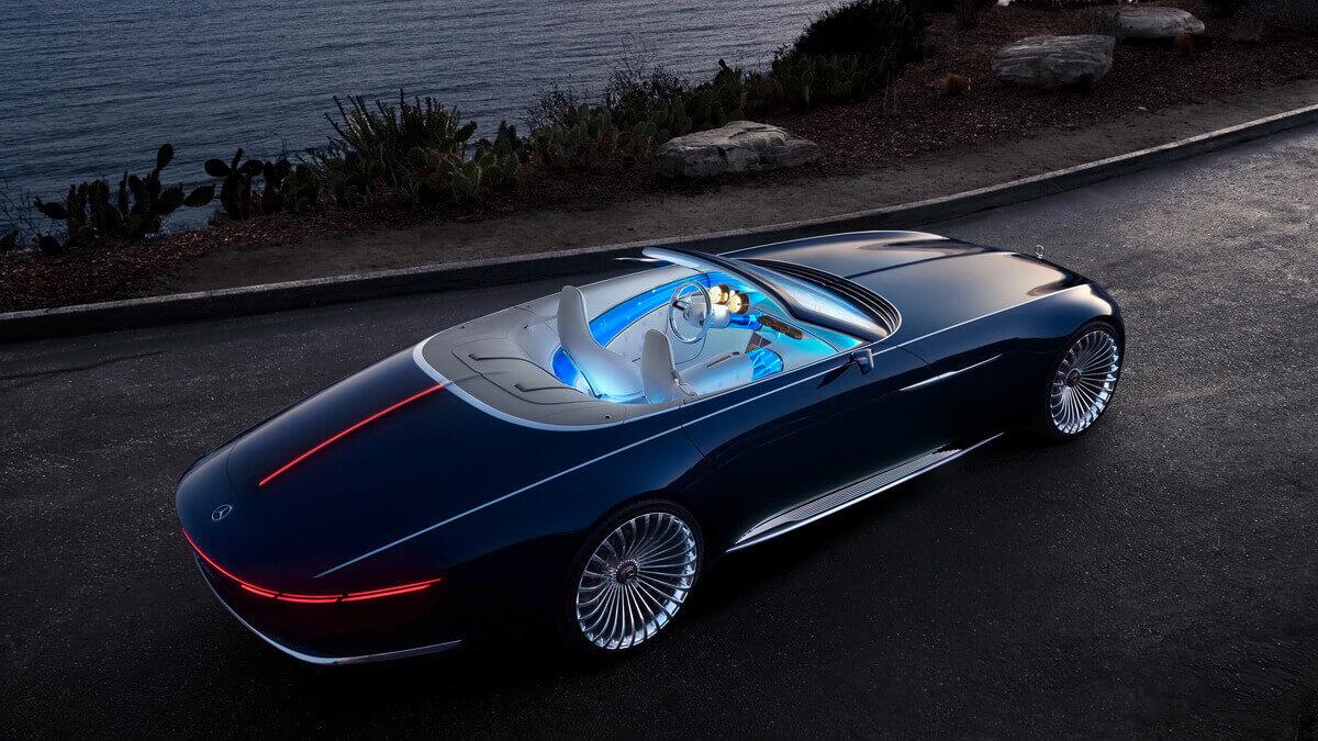 Mercedes-Maybach Vision 6 Cabriolet – Asphalte.ch