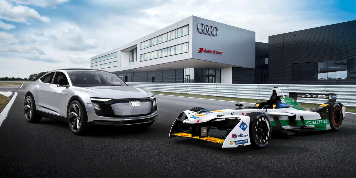 Audi e-tron FE04 Sportback Concept