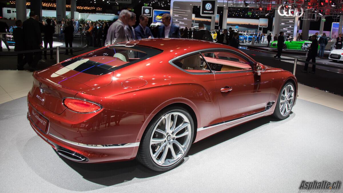 Bentley Continental GT IAA Francfort 2017