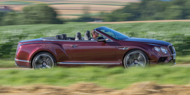 Essai Bentley Continental GT Convertible V8S