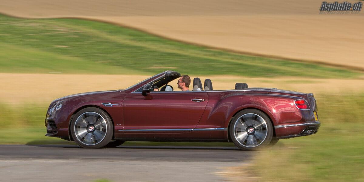 Essai Bentley Continental GTC V8S
