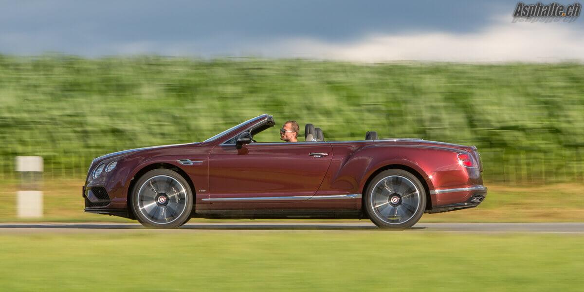 Essai Bentley Continental GT Cabriolet V8S Sunset