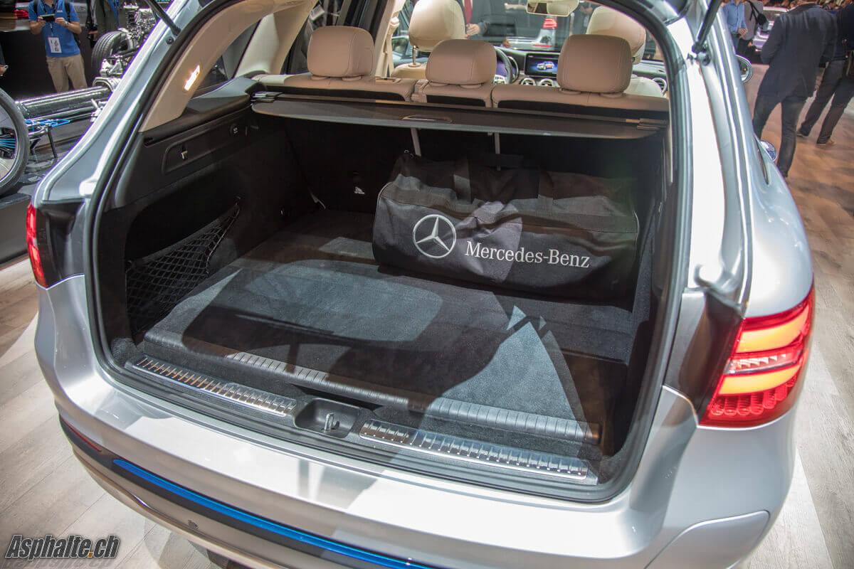 Mercedes GLC F-Cell Coffre