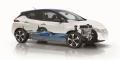 Nissan Leaf 2 2018 plateforme écorché
