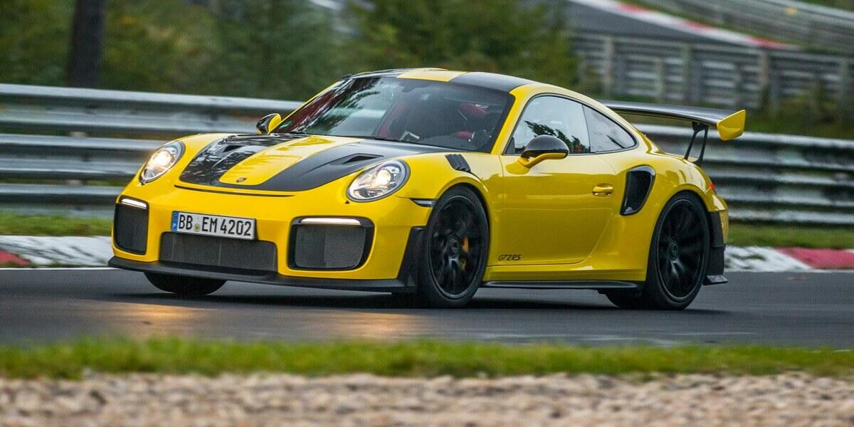 Porsche 991 GT2 RS record Nordschleife