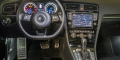 Essai VW Golf 7 R 360S tableau de bord