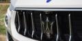 Essai Maserati Levante Diesel calandre