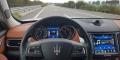 Essai Maserati Levante Diesel tableau de bord